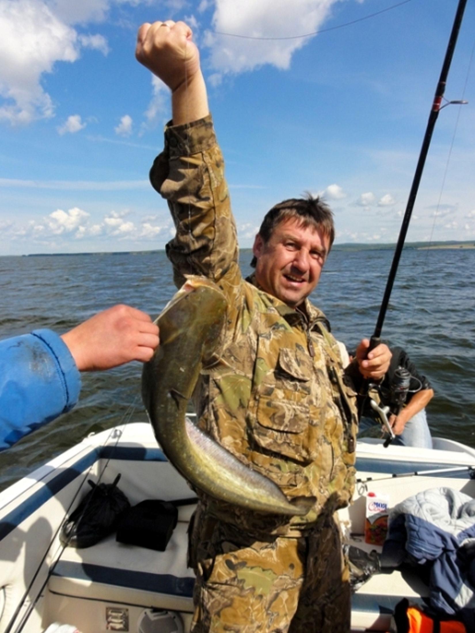 на рыбалку с пятака